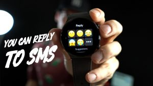 Replying to SMS Messages on Huawei Watch GT2 Pro! [Mood Messenger] ⌚