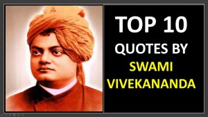 Top 10 Swami Vivekananda quotes in English and Hindi – for Students and Success in life