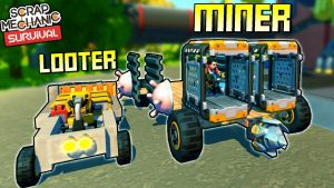 2 Essential Vehicle Types for Survival! – Scrap Mechanic Survival Mode [SMS 5]