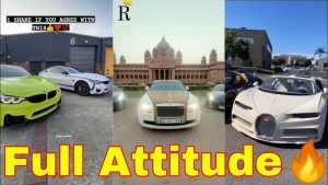 Fully Modified Sports And Luxury Car Attitude shayari lover viral video 2021||M.H.A TikTok