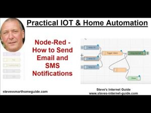 Node-Red -How to Send Email and SMS Notifications
