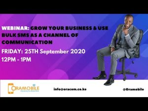 WEBINAR: GROW YOUR BUSINESS & USE BULK SMS AS A CHANNEL OF COMMUNICATION